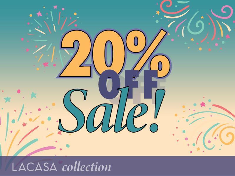 20% OFF Sale!